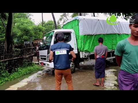 Emergency Distribution in Rakhine State with CEO Jehangir Malik