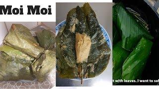How to make Nigerian Moi Moi in leaves | Moi Moi Elewe