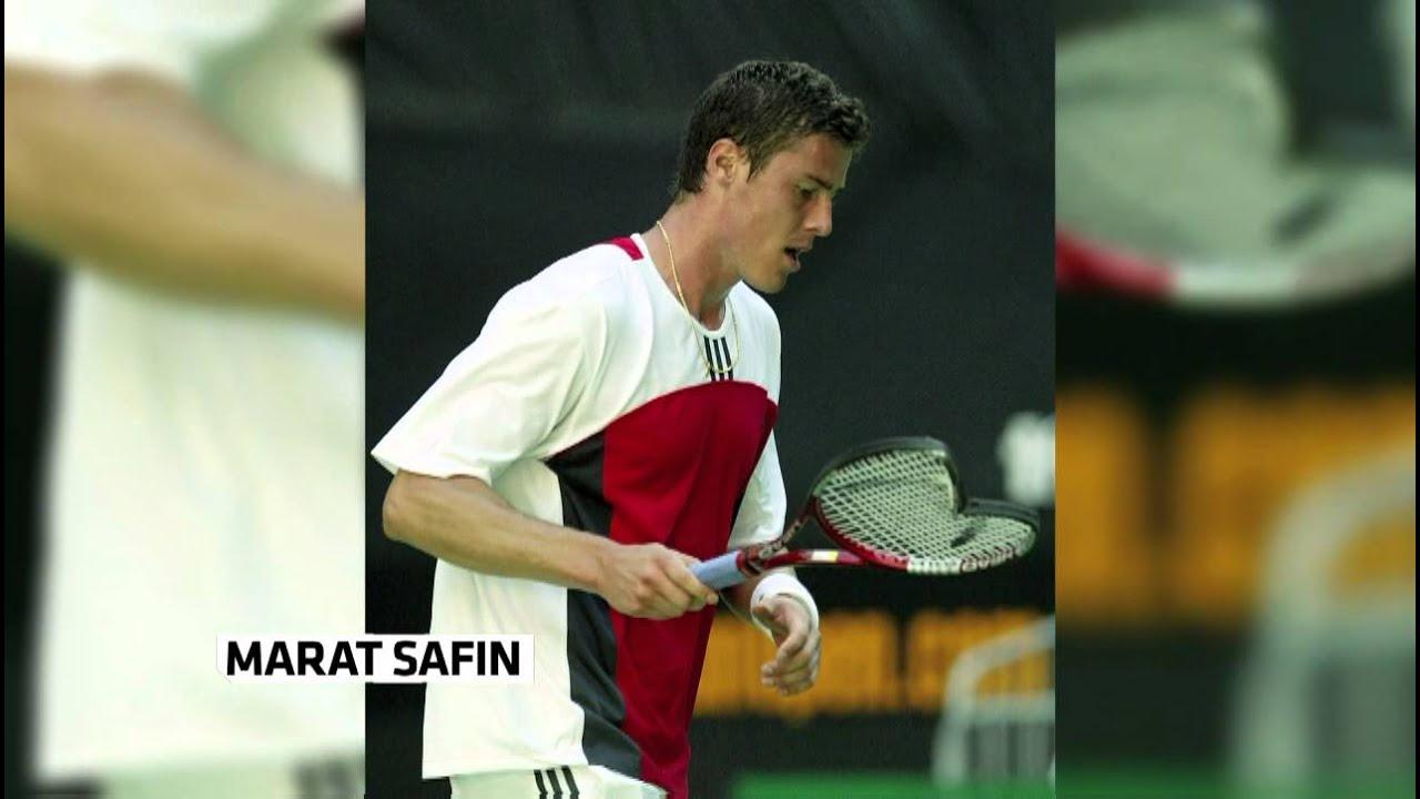 Marat Safin is the king of broken rackets
