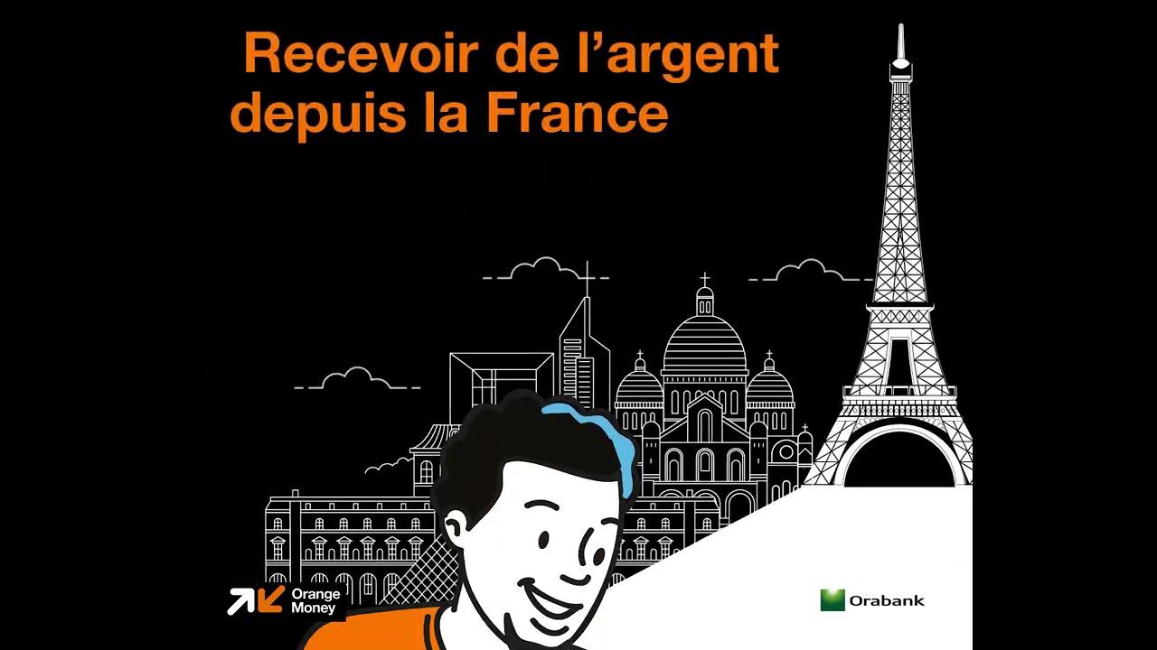 Recevoir de l'argent depuis la France directement dans son kalpé Orange Money