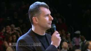 Mikhail Prokhorov's Game 1 Speech before Playoffs