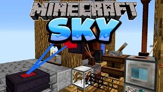 Meine Insel 2.0! - Minecraft SKY Folge #10