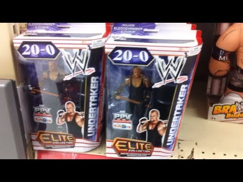 WWE ACTION INSIDER: ToysRus Wrestling Figure Aisle Mattel Review