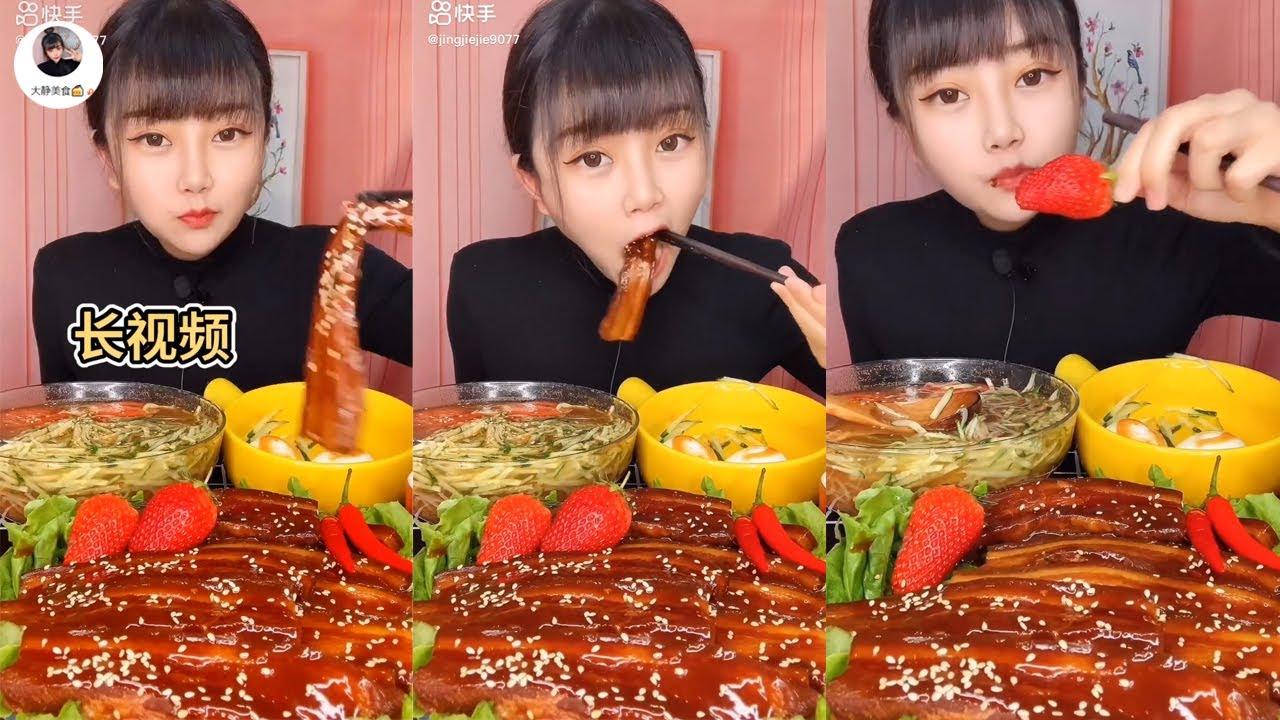 Chinese Mukbang: 🍖 ASMR Eating Show - Eat Chinese fatty food Yummy