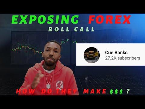 Exposing Forex: Cue Banks