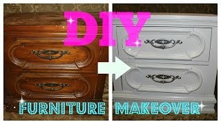 Diy Furniture Makeover (full Tutorial)