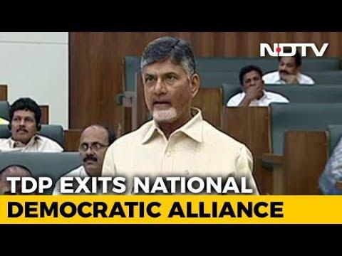 Chandrababu Naidu's TDP Quits NDA, To File No-Trust Motion Against Modi Government