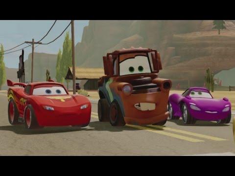 Disney Infinity - Gameplay Walkthrough - Cars Playset ...