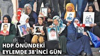 HDP önündeki eylemde 38'inci gün