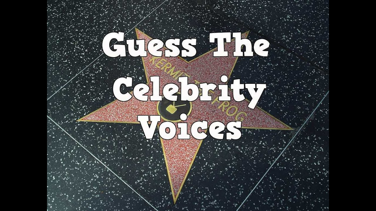 Guess The Celebrity By Their Voice Quiz