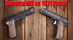 1911 vs Beretta M9