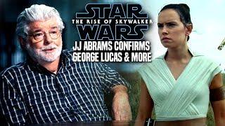Star Wars The Rise Of Skywalker! George Lucas CONFIRMED (Star Wars Episode 9)