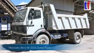 Mercedes-Benz SK 2031 2a Dump Truck, Walk Around, Quarry, Germany, 2016.