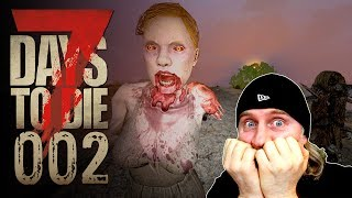 🔨 7 Days to Die [002] [Ups - da wohnt schon jemand!] Let's Play Gameplay Deutsch German thumbnail