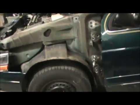 Repair Sprung Car Door Hinges & Repair Sprung Car Door Hinges - YouTube
