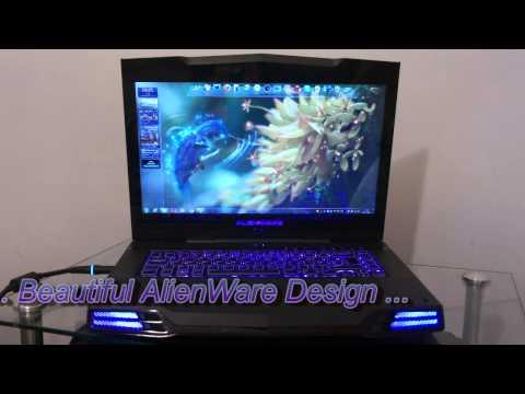 "DaRe-IT UFO Special Alienware M15X 15.6"" Gaming Laptop"