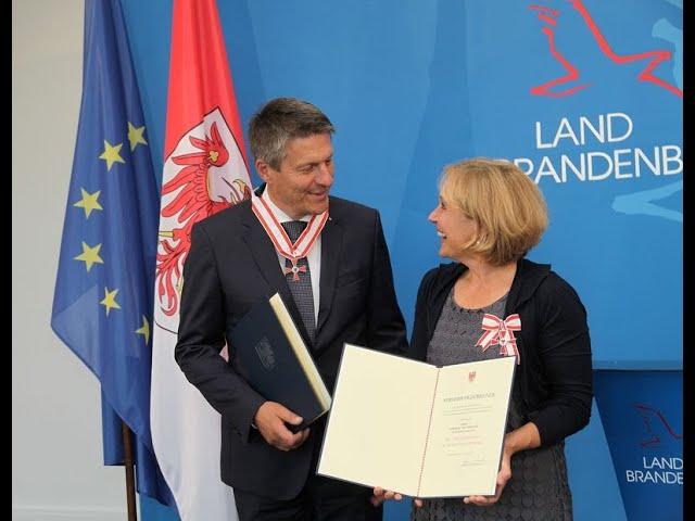 Felicitas erhält Verdienstorden des Landes Brandenburg