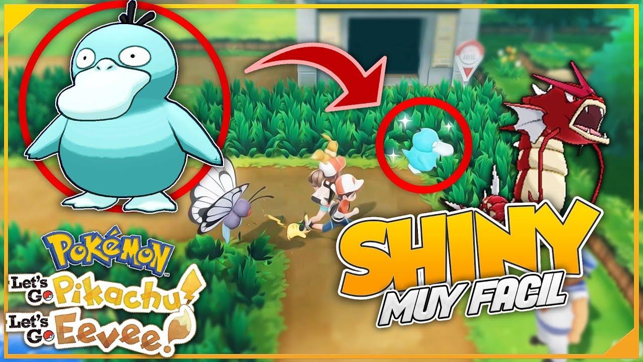 Shiny Pokemon LetS Go