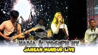 """NADIA & YOSEPH NY Live Performance """"JANGAN MUNDUR"""" At YOUTUBE FANFEST 2018"""