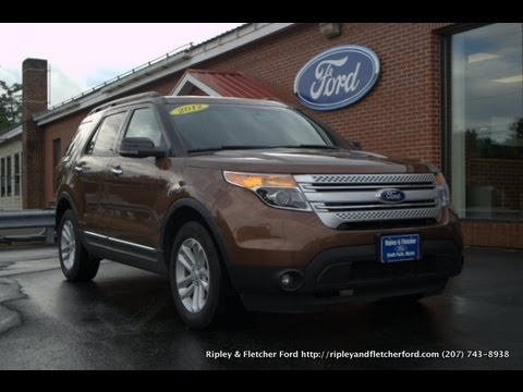 2012 ford explorer for sale in maine by ripley and fletcher ford south paris maine 04281 youtube youtube