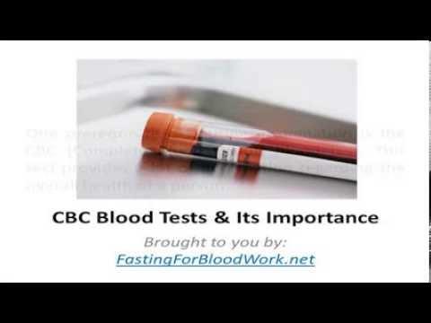 FastingForBloodWork.net | Understanding CBC Blood Test
