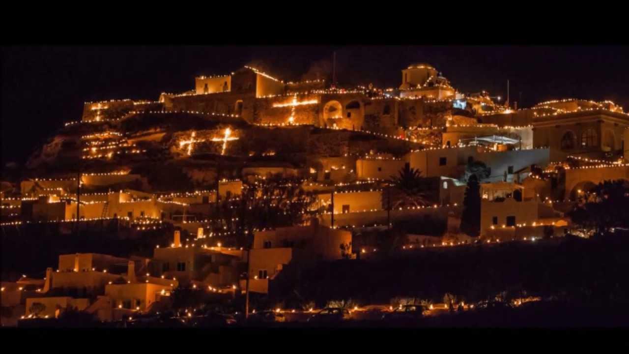 Holy Friday In Pyrgos Thiras