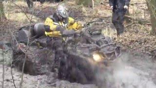 Квадроцикл по жестяковым местам мочит, водитель Victor Tsibulya