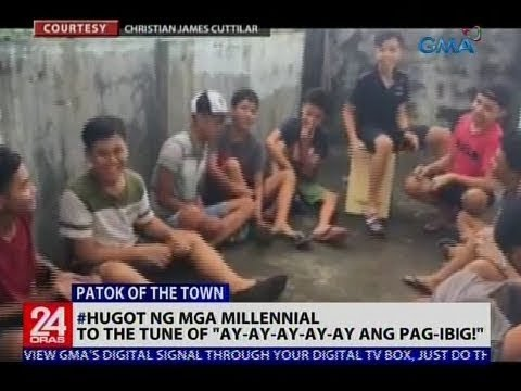 #Hugot ng mga millennial, to the tune of Ay-ay-ay-ay-ay Pag-ibig