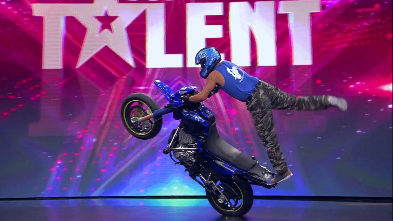 Download Fearless motorcycle crew shocks the jury │Supertalent Croatia 2017.│Auditions