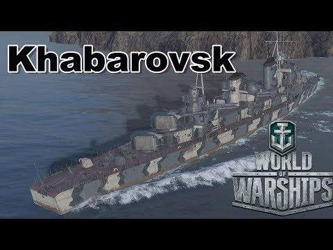 World of Warships: Khabarovsk Does Khabarovsk Things