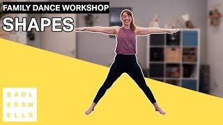 Family Dance Workshop for kids aged 2 – 6: Shapes