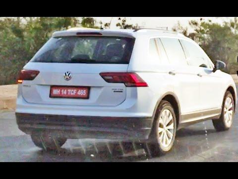 2017 Volkswagen Tiguan Spotted In India