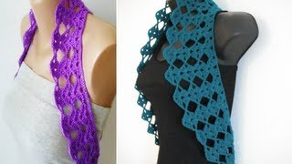 how to crochet vest shrug chaleco free pattern tutorial for beginners