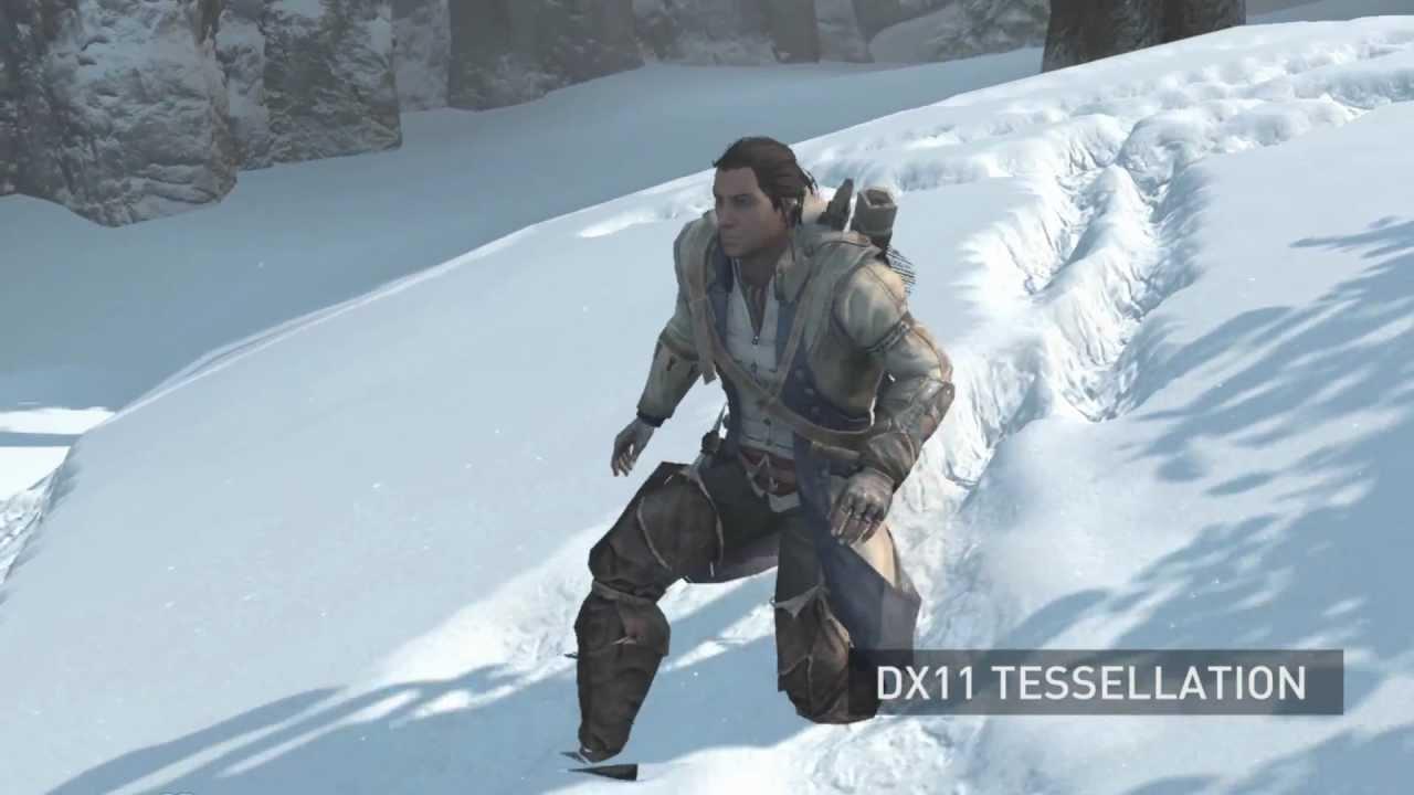 Assassins Creed III TXAA Comparision Amp Tessellation YouTube