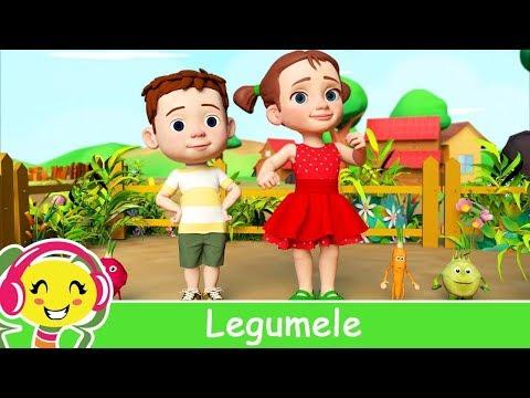 Cantec nou: Legumele - Cantec educativ pentru copii | CanteceGradinita