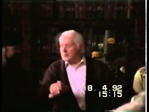 Gordon Higginson with Glyn Edwards - 1992