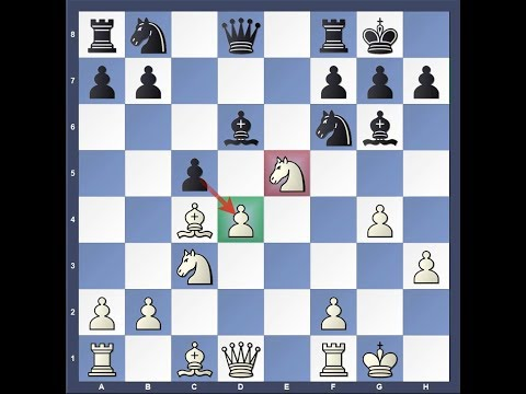 Chess Trap 30 (French Exchange Variation)