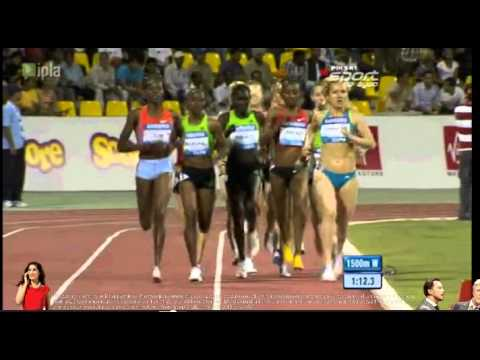 1500 m women Doha 2011