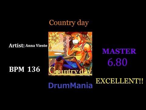 【GITADORA EXCHAIN/DrumMania】Country day  EXCELLENT!!
