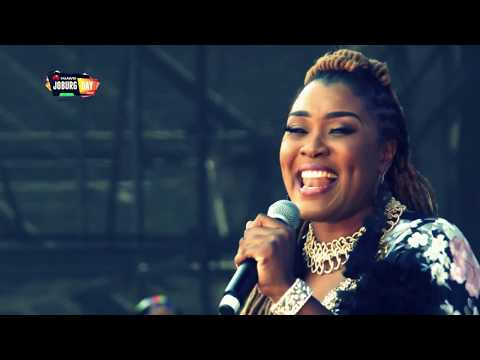 Collide - Lady Zamar At #HuaweiJoburgDay In The Park