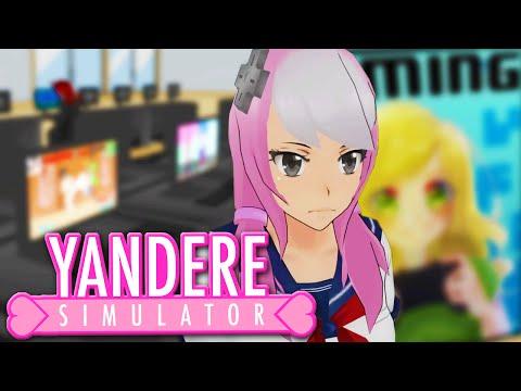 YANDERE'S GAMING CLUB SECRET... - Yandere Simulator Update (GAMING CLUB, Yandere Simulator Gameplay)