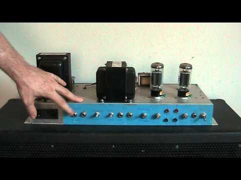 Prototype 50 Watt Guitar Amplifier - Visual Overview