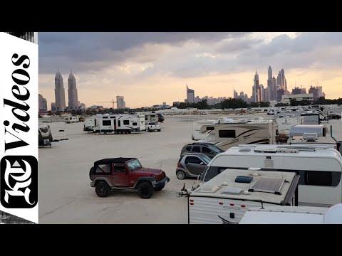 Fancy camping on a caravan for free in Dubai?