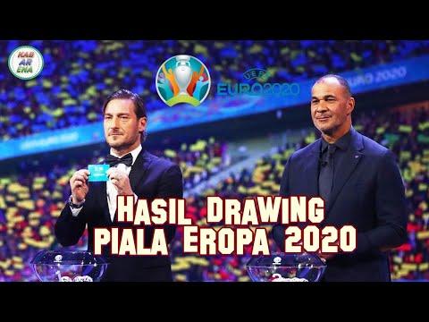 Hasil Drawing Piala Eropa 2020 | UEFA EURO CUP  2020
