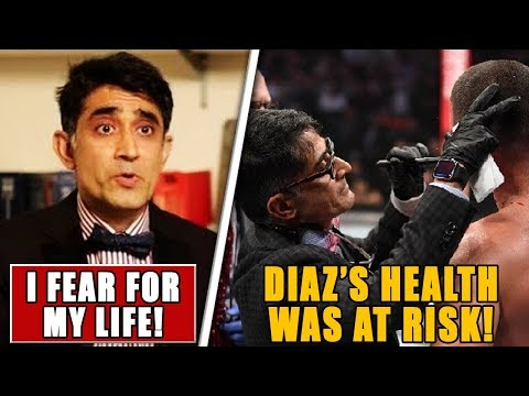 UFC 244 Doctor BREAKS SILENCE After Diaz Vs Masvidal Controversial Stoppage, Romero On Adesanya