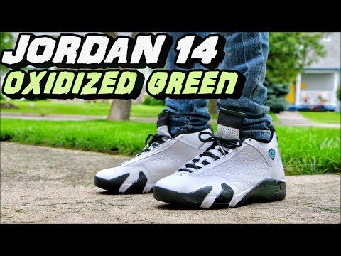promo code 0281b f0930 AIR JORDAN 14 OXIDIZED GREEN REVIEW + ON FOOT