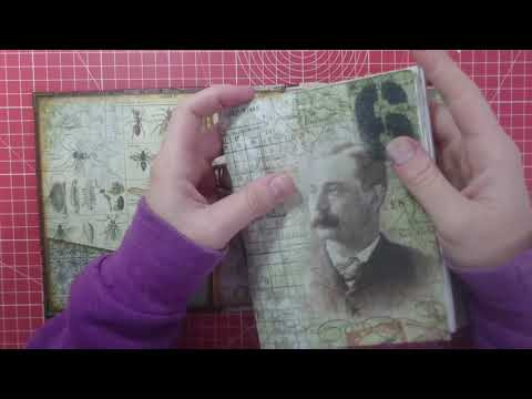 Tutorial - Junk Journal - Creating the Signatures