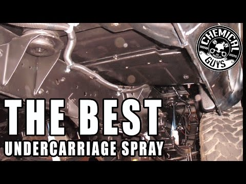 Best Under Carriage Spray - Chemical Guys Bare Bones