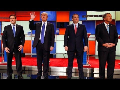 Part 1 of the Fox News GOP presidential debate in Detroit