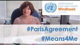What the #ParisAgreement #Means4Me - UNIC Windhoek